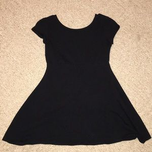 Black Simply Styled dress for girls